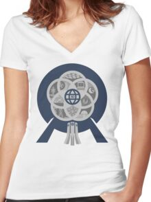 EPCOT Center 30th Anniversary Women's Fitted V-Neck T-Shirt