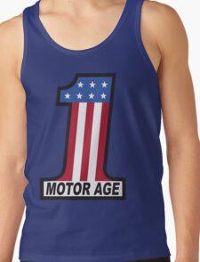 Motor Age American Flag 1 Tank Top