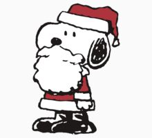 Santa Claus Snoopy by CeaserTee