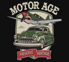 Motor Age Clothing Vintage Warbird  by ryankrupnick