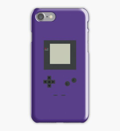 Gameboy color Grape iPhone Case/Skin