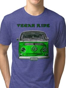 VW Vegan ride Tri-blend T-Shirt