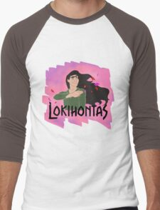 Lokihontas Men's Baseball ¾ T-Shirt
