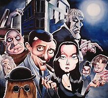 The Addams Family by Michael E. Vernon