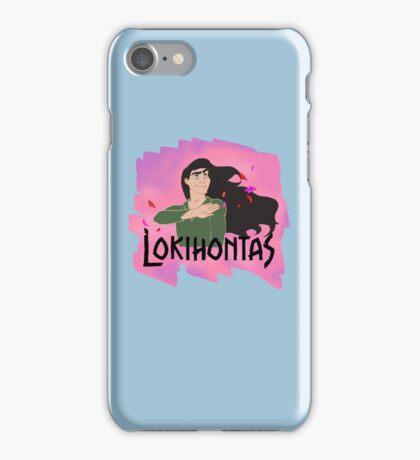 Lokihontas iPhone Case/Skin