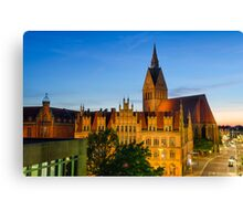 Hannover Sunset Canvas Print
