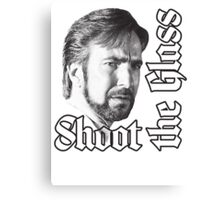 Shoot the Glass Canvas Print