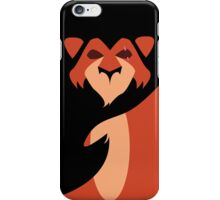Scar Minimalist iPhone Case/Skin