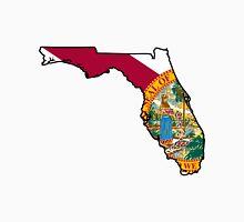 Florida Flag [Blk] | State Line | SteezeFSC T-Shirt