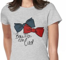 Bowties are cool! Womens Fitted T-Shirt