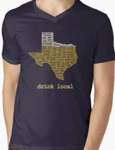 Drink Local (TX) Mens V-Neck T-Shirt