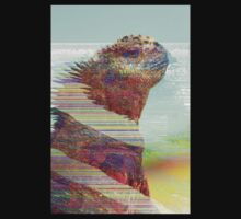 Iguana Glitched Ver.2.0 by AluminiumEagles