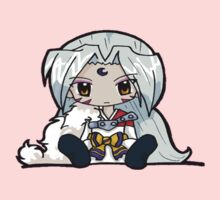 Sesshomaru chibi sitting by ShaanBr