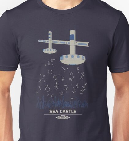 Sea Castle Unisex T-Shirt
