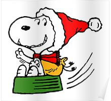 Snoopy Claus Poster