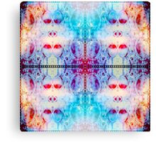 Psychedelic Collision  Canvas Print