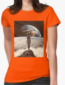 Crashing Waves Womens Fitted T-Shirt