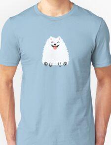 Funny White Pomeranian T-Shirt