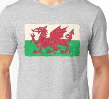 Welsh Flag Unisex T-Shirt