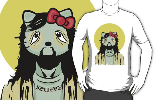 Hello Kitty Jesus by Neil Manuel