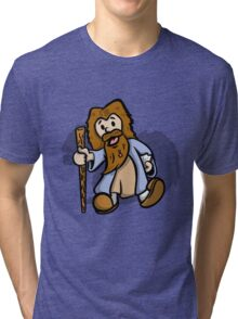 Vintage Plays with Squirrels Tri-blend T-Shirt