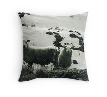 Here's looking at ewe Throw Pillow