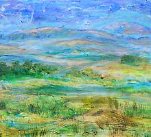 Landscape after Rassuman by Regina Valluzzi