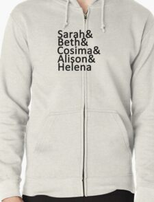 Orphan Black Clone Club (without Katja) T-Shirt