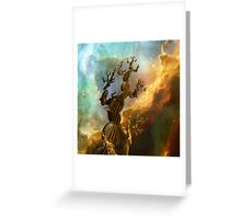 Trees III:  Reaching For the Stars Greeting Card