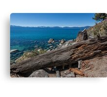 At Secret Harbor - Lake Tahoe Canvas Print