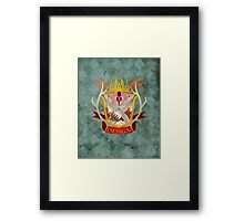 Hannibal Crest Framed Print