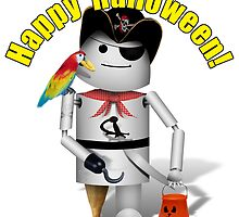 Happy Halloween from Robo-x9 by Gravityx9