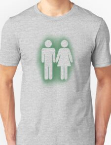 Male and Female Stencil T-Shirt