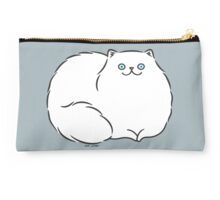 Luxury White Persian Kitty Cat Studio Pouch