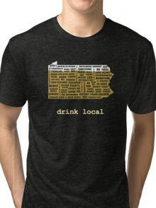 Drink Local (PA) Tri-blend T-Shirt