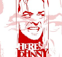 Here's Johnny by David Benton