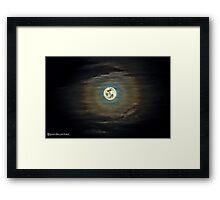 Moon (High Dynamic Range) Framed Print