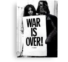 Darth Vader with Yoko Ono Canvas Print
