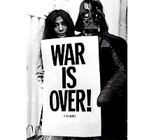 Darth Vader with Yoko Ono Photographic Print