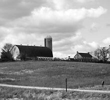 B&W Farm by Cassy Greenawalt