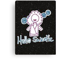 Hello Sweetie 2 Canvas Print