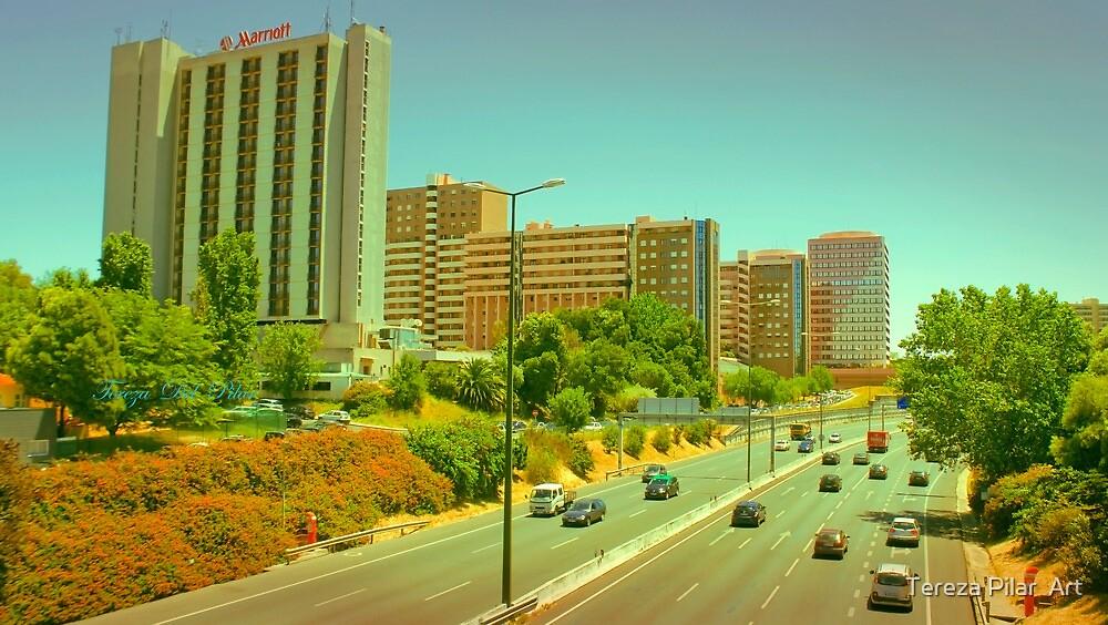 city view. Lisbon. E1. eixo norte-sul by terezadelpilar~ art & architecture