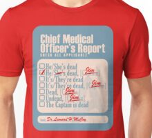 Chief Medical Officer's Report Unisex T-Shirt