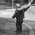 A Puddle - definition;  A boy's best friend.  by geof