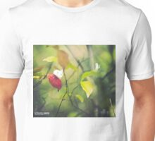 The first autumn leaf - Wandering forest 4 Unisex T-Shirt