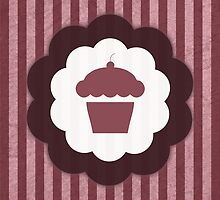 vintage cupcake by maydaze