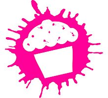 cupcake splats Photographic Print