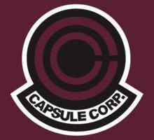 Dragon Ball Z / Capsule Corp. Logo  by Alex Decimelli