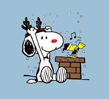 Snoopy and Woodstock Christmas Unisex T-Shirt