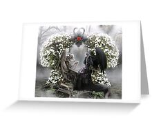 Your heart is beating me to death everyday Greeting Card